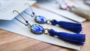 Folk And Floral Tassels