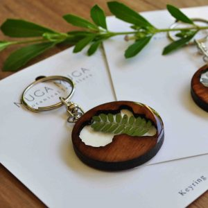 Botanical Key Rings